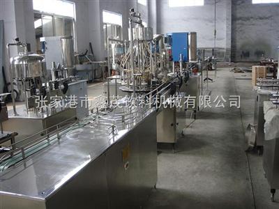小产量直线式罐易拉罐汽水生产线