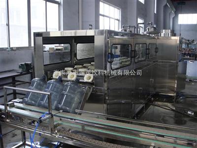 QGF-4505加仑桶装水生产线