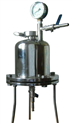 不锈钢圆桶式正压过滤器(正压滤器)