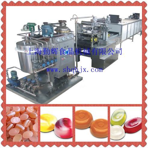 QH150硬糖生產線設備